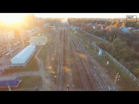 Дрезна с высоты птичьего полета