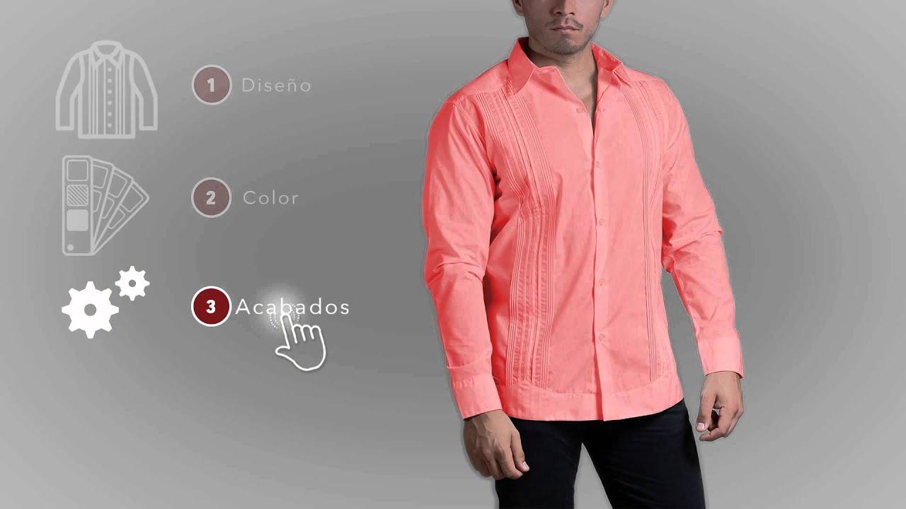 Jk guayaberas personaliza tus prendas de vestir youtube for Boda en jardin como vestir hombre