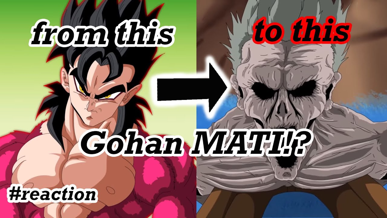 FAN MADE DRAGON BALL DELIVERENCE -  Gohan MATI?!! #Reaction