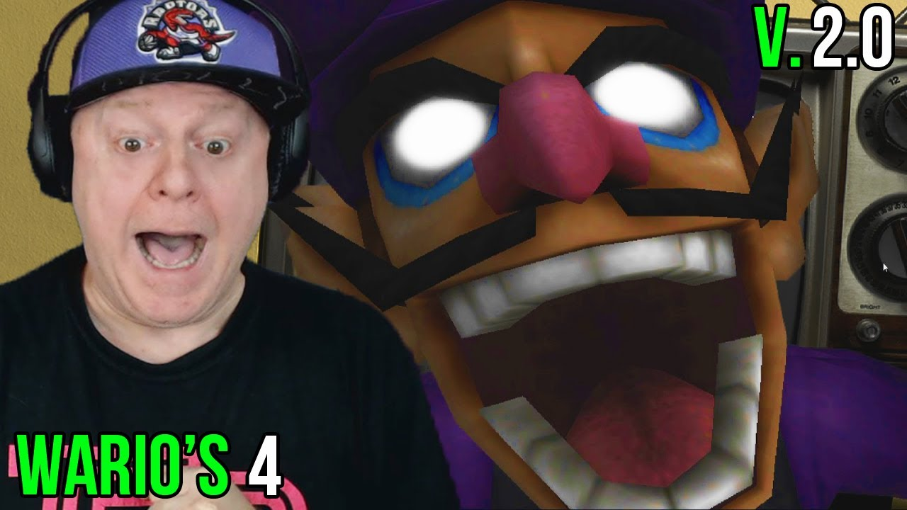 WALUIGI RAN DOWN A HALL TO JUMPSCARE ME | WARIO'S 4 V2.0 - BOTH MAX CUSTOM NIGHTS COMPLETED + EXTRAS