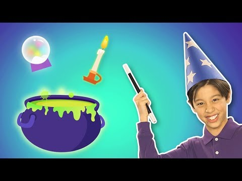 Rinkety Dinkety | 🧙♂️ COLOR MAGIC FUN 🧙♂️ | Mother Goose Club Playhouse Kids Video