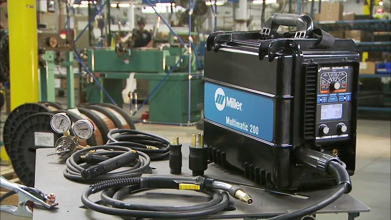 Miller Welders For Sale >> Introducing The Multimatic 200 Mig Tig Stick Welder