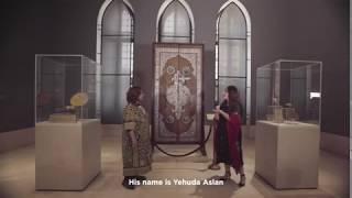 عرض أحد أكبر الأبواب المزينة بالفضة في العالم من داخل متحف الفن الإسلامي