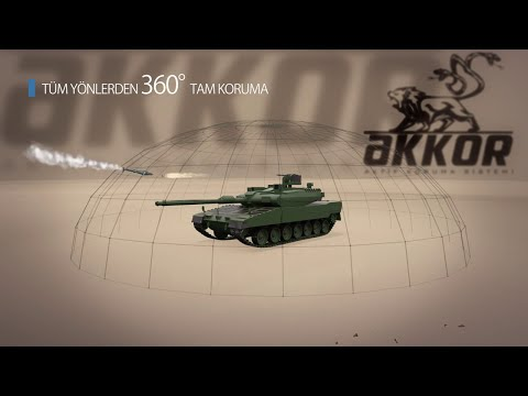 Aselsan Akkor -  Active Protection System