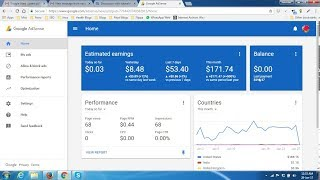 Earn money with google adsense fully Activated - App Earning Part 1