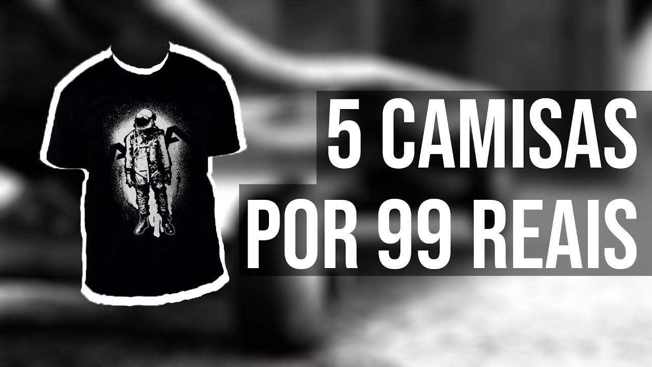 d552714663 KANUI - Comprei 5 camisas por R 99 - promoção - YouTube