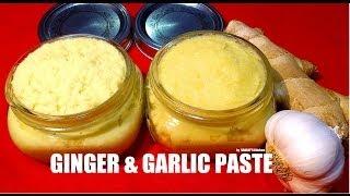 Ginger Garlic Paste Recipe Homemade
