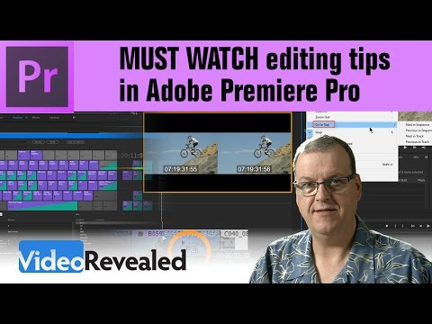 MUST WATCH editing tips in Adobe Premiere Pro