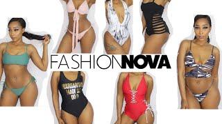 Dont sleep on Fashion Nova SwimSuits!!! Bikini Try On Haul!