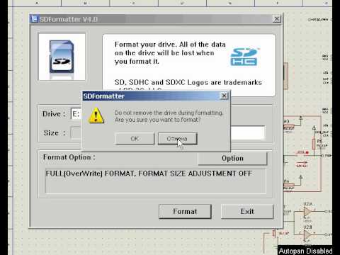 низкоуровневое форматирование Sd карты - фото 10