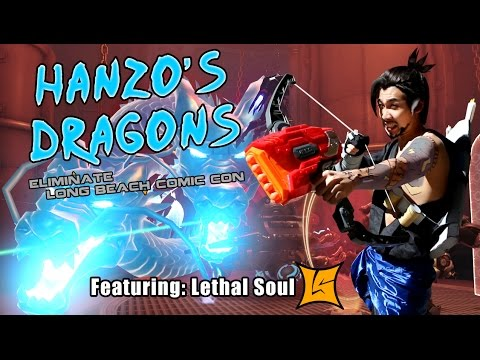 Overwatch - Hanzo Dragonstrikes Long Beach Comic Con 2016