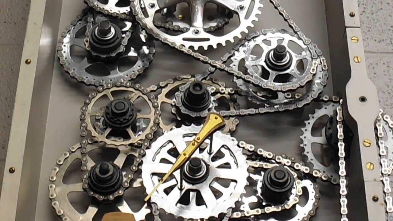 Bicycle Gear Clock Youtube