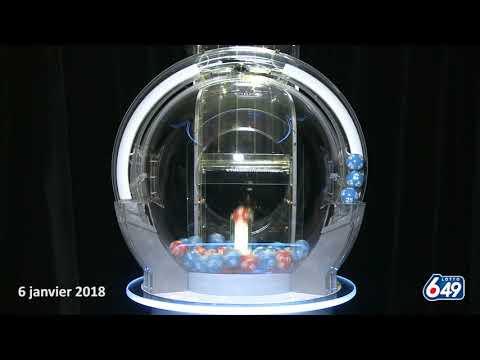 Lotto 6/49 - Tirage du 6 janvier 2018