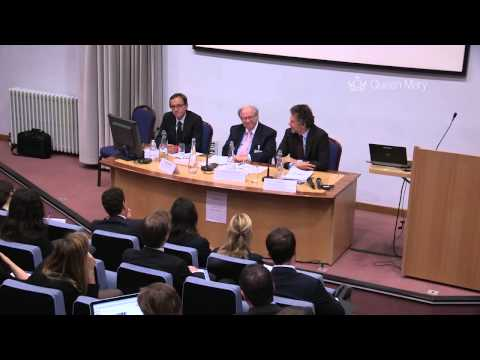 6/6 PM Session: The Inaugural conference of the Queen Mary Institute for Regulation and Ethics