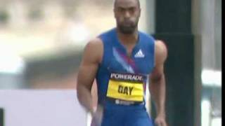 New Record for Tyson Gay- 200m 19.41 -Great City Games Manchester 2010