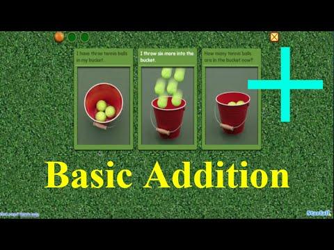 add to   Starfall addition   First grade math ➕ Basic addition 🙉