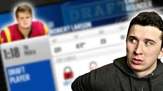 WE DRAFTED THE HIGHEST RANKED QB IN NFL DRAFT HISTORY!! Madden 18 Franchise