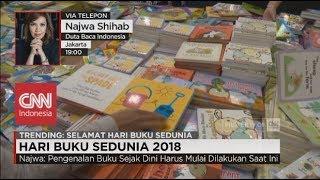 Najwa Shihab Pengenalan Buku Sejak Dini Harus Mulai Dilakukan Saat Ini - Hari Buku Sedunia