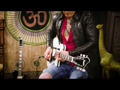 Supro Dual-Tone Guitar Reissue Official Demo by Richard Fortus