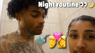 Night Routine As A Couple .. w / BRI 😍