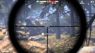 Heroes and Generals - Sniper gameplay