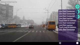 Урок Вождения Онлайн Мокрый Снег Академгородок 3