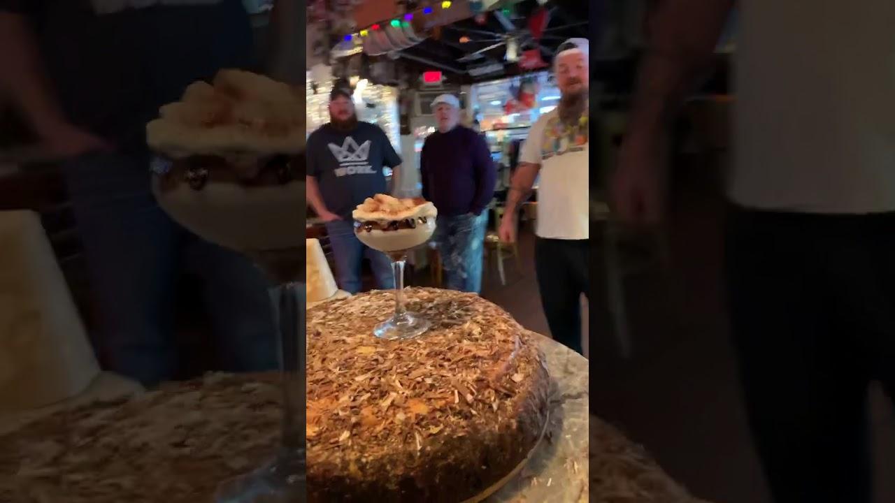 Catfish Cooley visits Rim Cafe