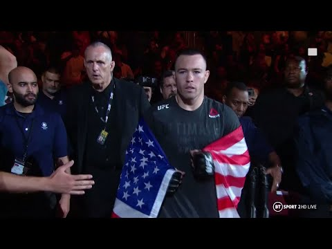 Colby Covington's EPIC Kurt Angle-style Entrance!