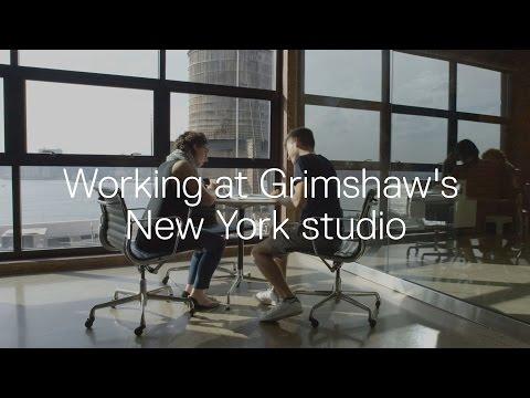 Working at Grimshaw's New York studio