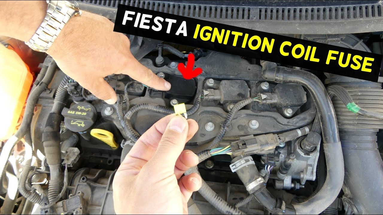 Ford Fiesta Ignition Coil Fuse Mk7 St Youtube