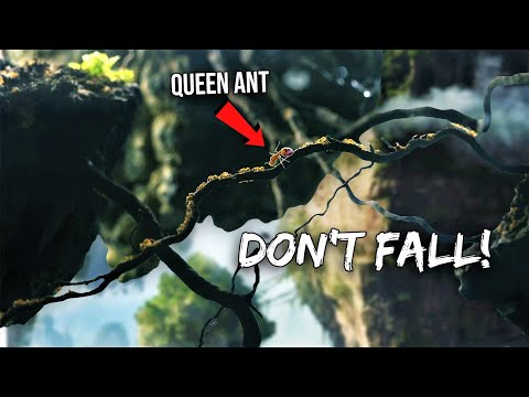 QUEEN FIRE ANT Moving Into AVATAR FLOATING MOUNTAINS