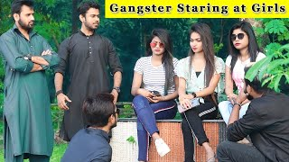Gangster Staring Girls Prank || Prank In India 2019 || Funday Pranks