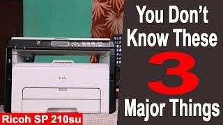 Ricoh SP 210su Laser Printer - 3 Special Features