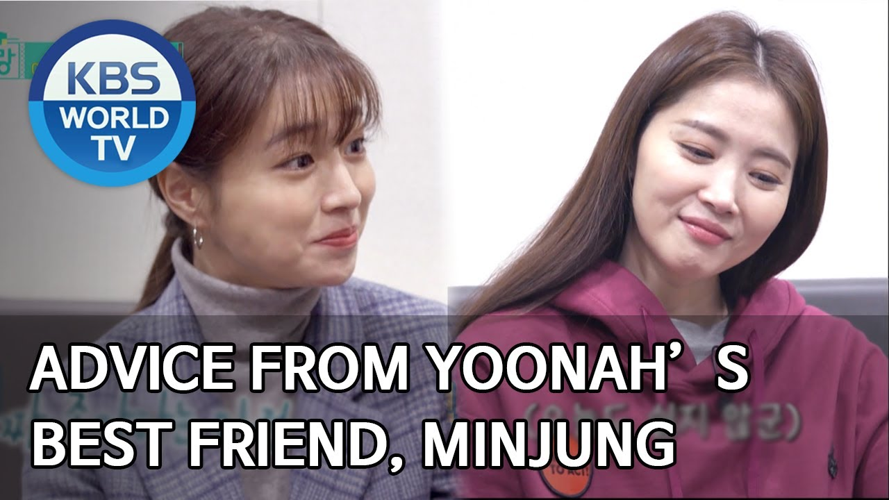 Advice From Yoonah S Best Friend Minjung Stars Top Recipe At Fun Staurant Eng 2020 05 26 Youtube