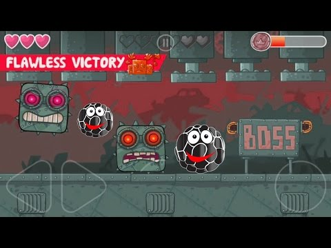 Red ball 4 Volume 3: Black Bilberry Complete game walkthrough with BOSSES killed