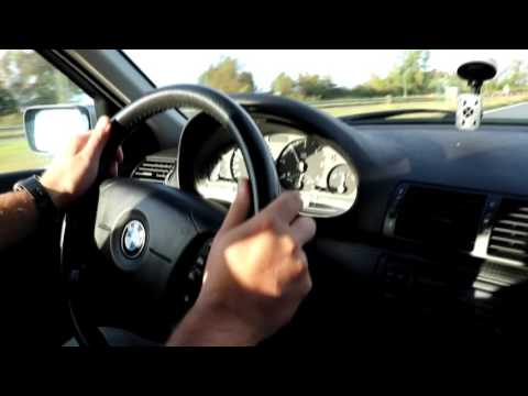 BMW  E46, 330D TOURING, 204HP. Сбалансированый взгляд изнутри