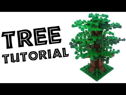 4x Lego Reddish Brown Arch 1 x 5 x 4 Tree Branch