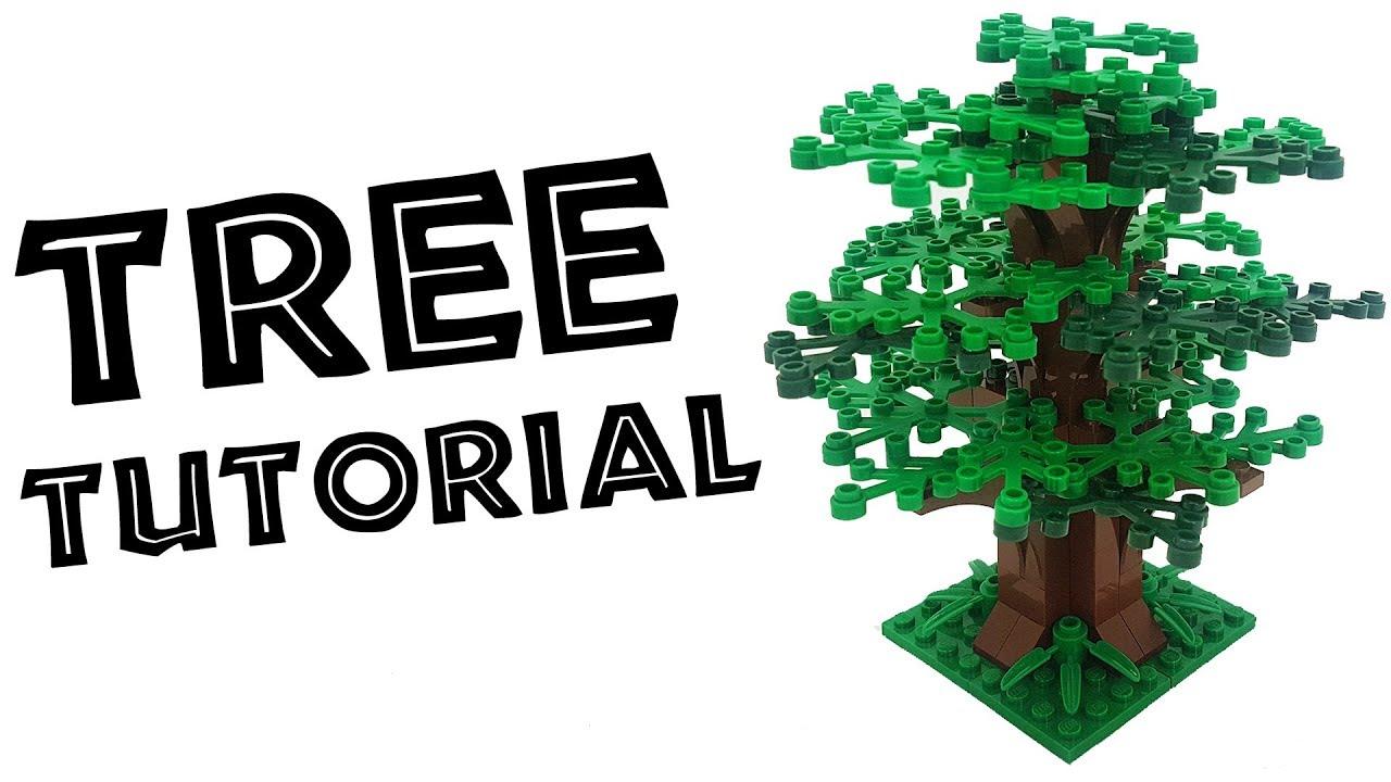 NEW Parts 5 1x1 w// 3-Leave Green Foliage Lego Brick Bricks