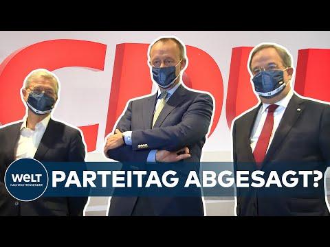 CDU-Parteitag abgesagt: CDU-Spitze berät über Vorsitzendenwahl