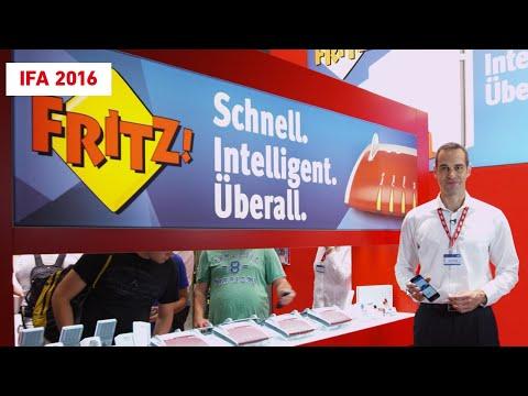 Lo más destacado de FRITZ! directamente desde el stand de la feria