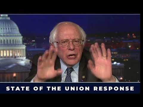 America doesn't want a 'bully' president: Bernie Sanders responds to Trump's speech