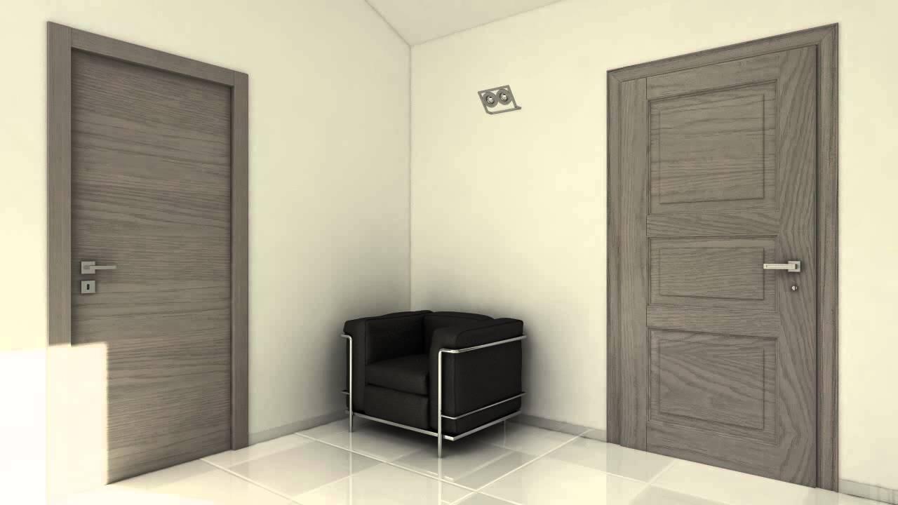 Porta blindata interno e esterno youtube - Garofoli porte blindate ...