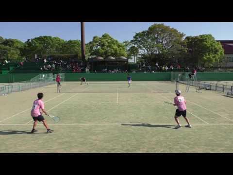 2017 九州オープン ソフトテニス選手権 男子準々決勝-②