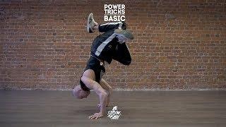 "25. Power tricks (Basic) | Видео уроки брейк данс от ""Своих Людей"""