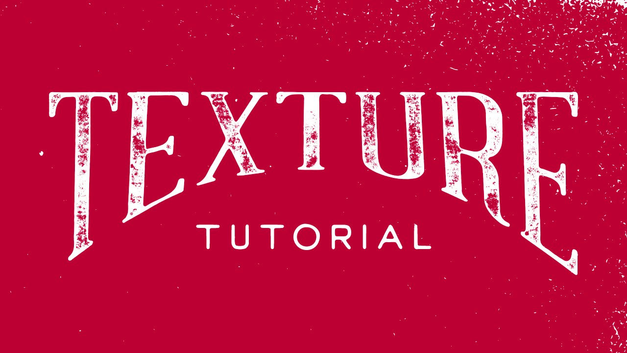 How to add texture to your hand lettering in illustrator cc youtube how to add texture to your hand lettering in illustrator cc ccuart Choice Image