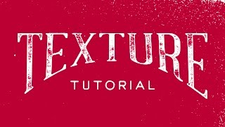 How To Add Texture To Your Hand Lettering In Illustrator CC