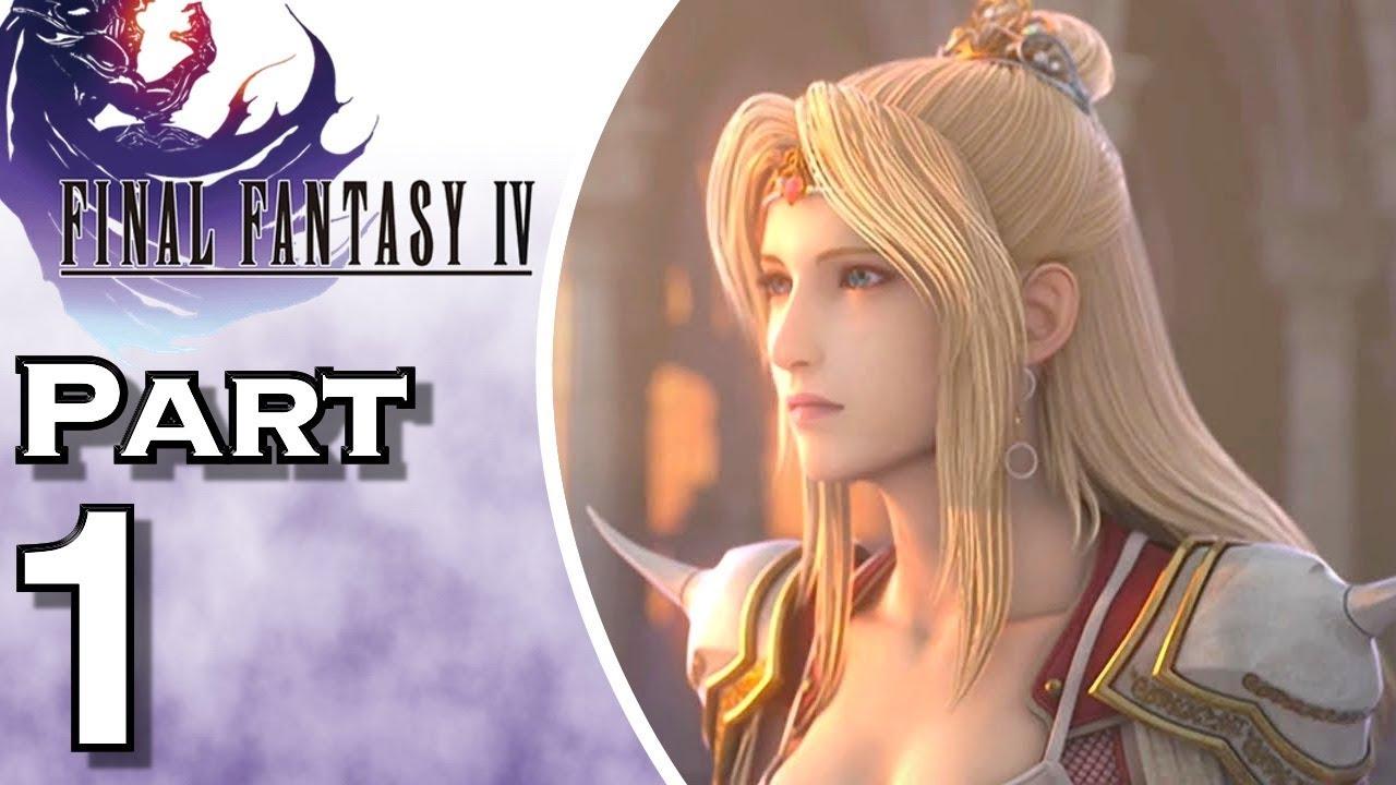 Let S Play Final Fantasy Iv Ios Gameplay Walkthrough Part 1 Kingdom Of Baron Youtube