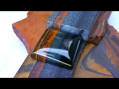 "Basic ""How to"" Tutorial on Cutting and Polishing a Gemstone Cabochon"