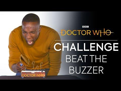 The Buzzer Challenge!   Jodie vs Mandip vs Tosin   Doctor Who
