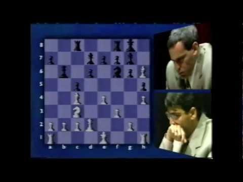 BBC coverage of World Chess Kasparov v Anand 1995